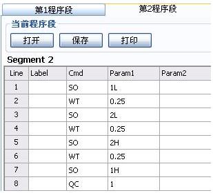 第2程序段(Segment 2)