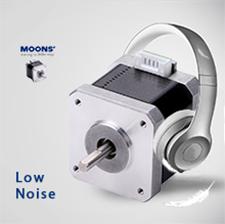 MOONS'步进电机低噪音更平滑